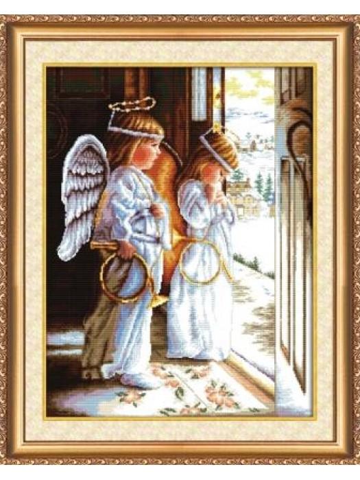 Набор для вышивания Ангелы