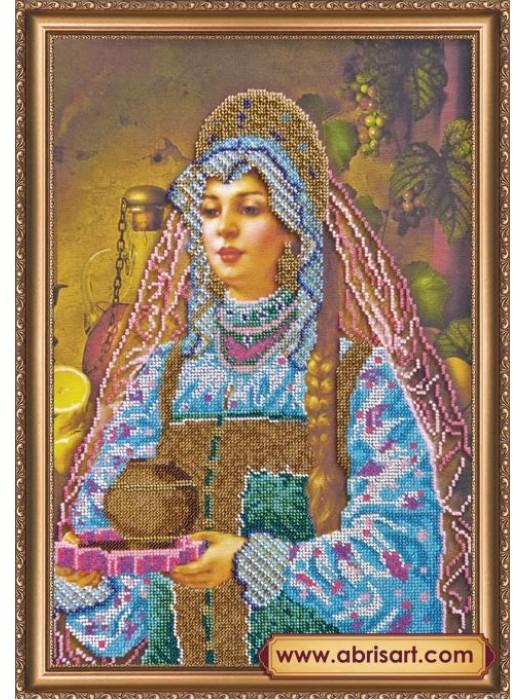 Набор для вышивки бисером на холсте Василиса АВ-188
