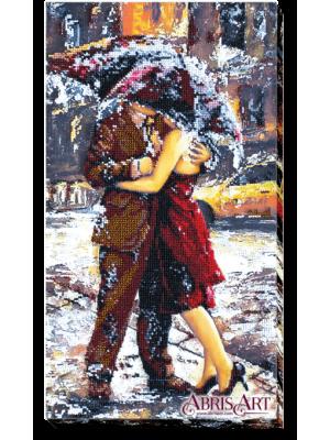 Набір для вишивки бісером на холсті Історія кохання-2 AB-406