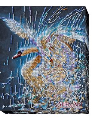 Набор для вышивки бисером на холсте Сияние верности AB-418