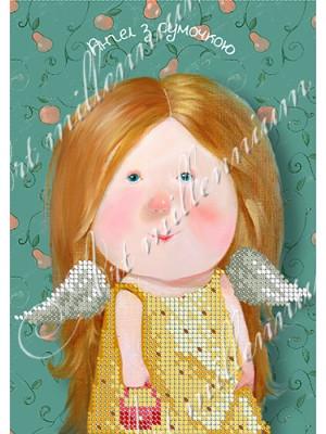Ангел с сумочкой W-497