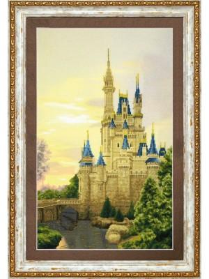 """Набір для часткової вишивки хрестом Чарівна Мить РК-118 """"Палац для принцеси"""""""
