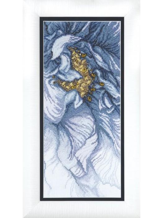 Набір для вишивки хрестиком Чарівна Мить М-270 Блакитний настрій