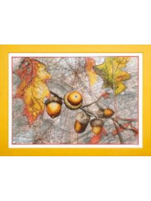 ВТ-503 Crystal Art Осенний набросок