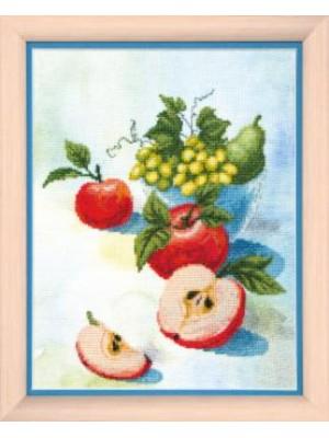 Акварельные яблочки