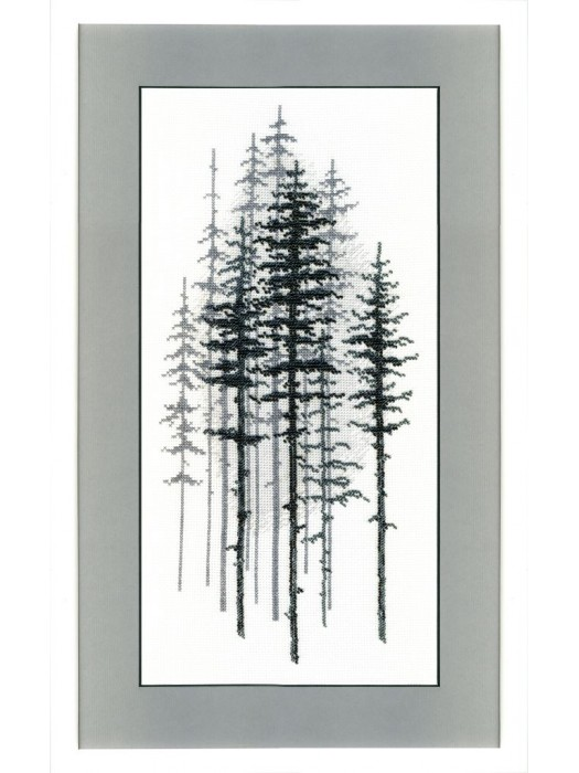 ВТ-1014 Crystal Art Туманный лес
