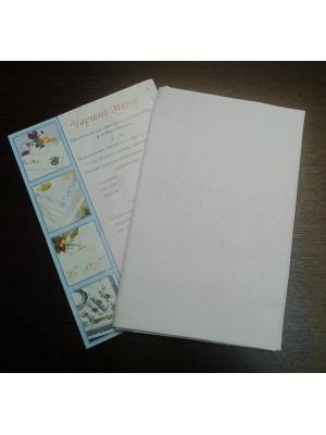 Канва-серветка біла 72 * 72 см