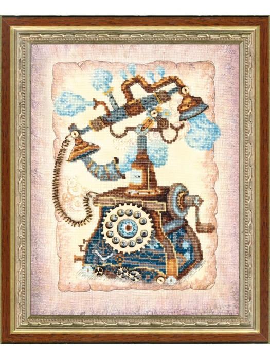 Набор для частичной вышивки крестом Чарівна Мить РК-085 Ожидание звонка
