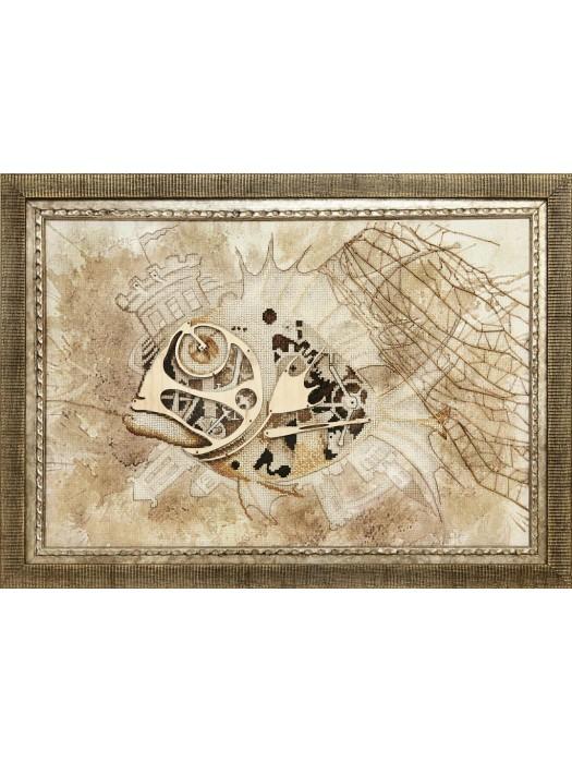 Набор для частичной вышивки крестом Чарівна Мить РК-087 Загадочный улов