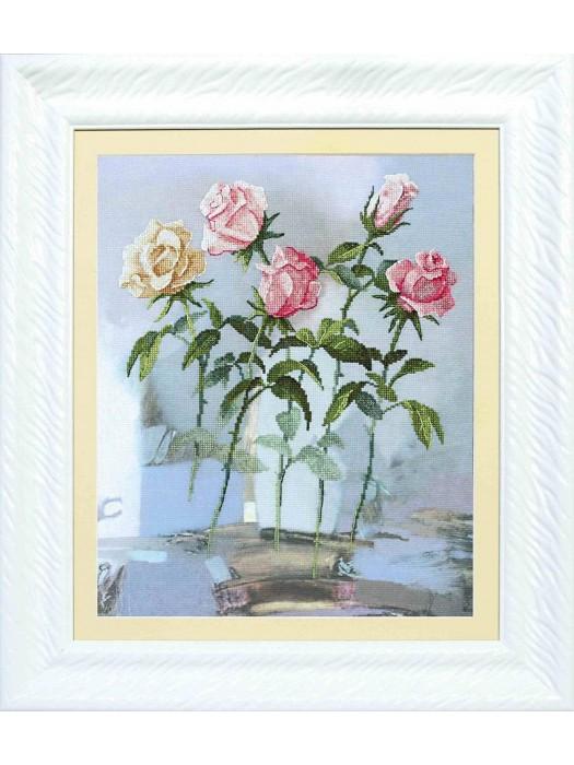 Набір для часткової вишивки хрестом Чарівна Мить РК-080 Пробудження троянд