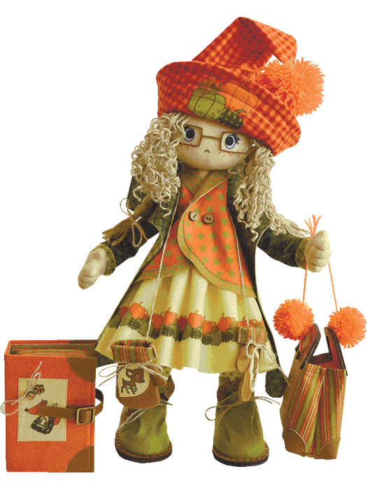 Осень К1022 - набор для шитья куклы