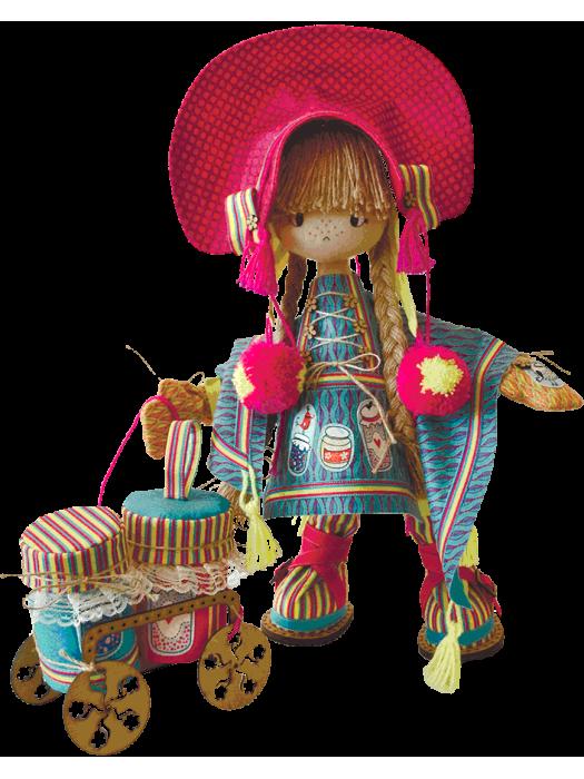 Финская девочка К1024 - набор для шитья куклы