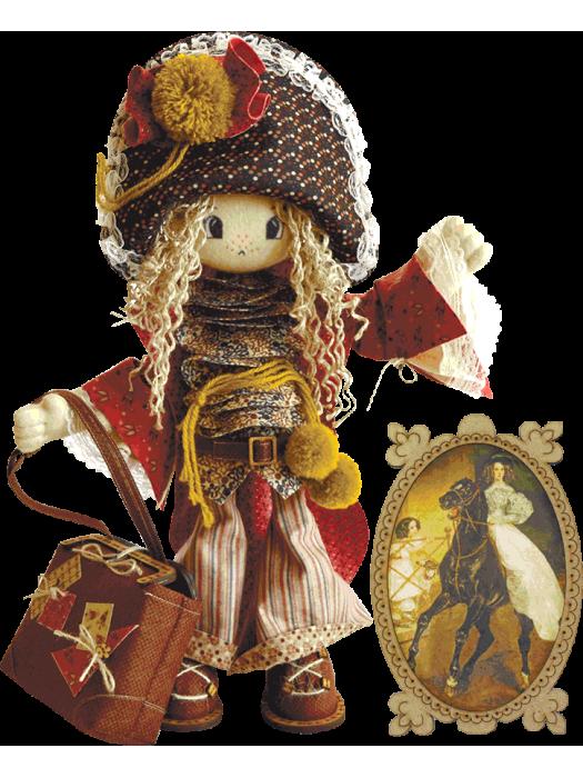 Миледи К1026 - набор для шитья куклы