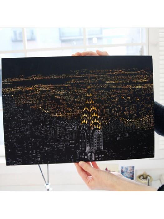 Нью-Йорк скретч-набор