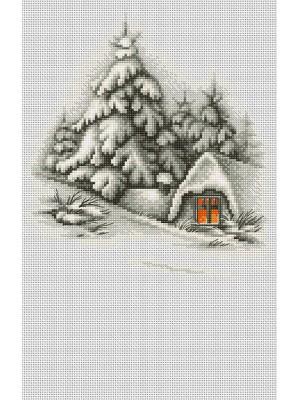B2279 Зимний пейзаж