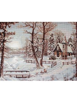 B321 Зимний пейзаж