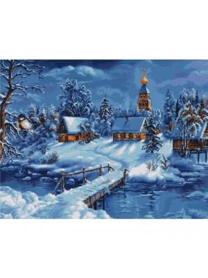 B447 Зимний пейзаж