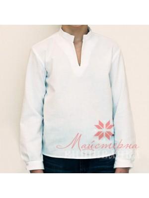 Детская сорочка для вышивки Котигорошко