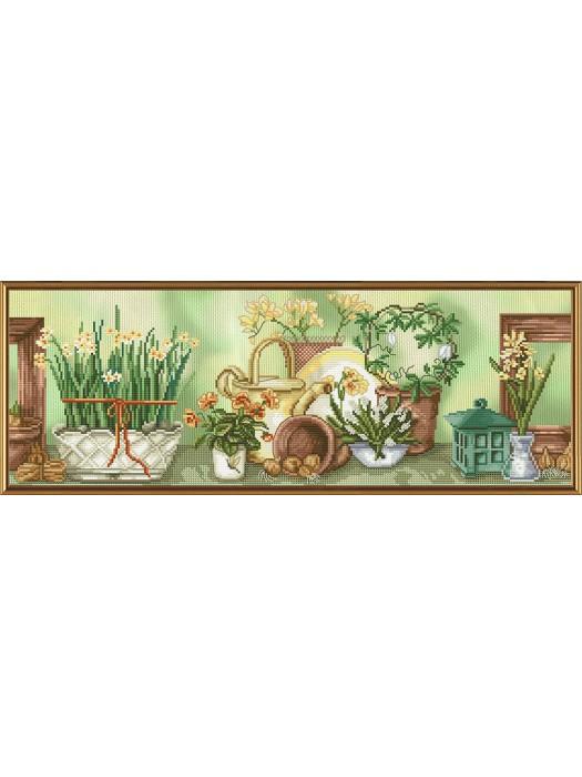 Садовый натюрморт СВ4034
