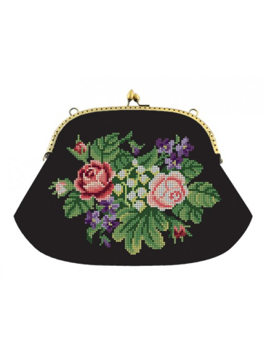 Набір для вишивки клатча Троянди