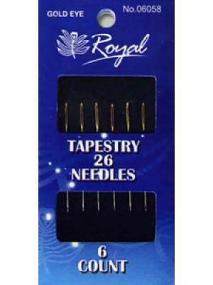 Иглы для вышивания № 26 Royal