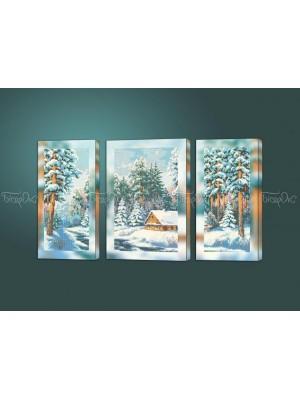 Морозный день триптих