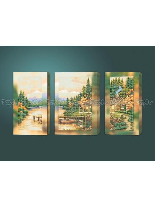 Осенний вечер триптих
