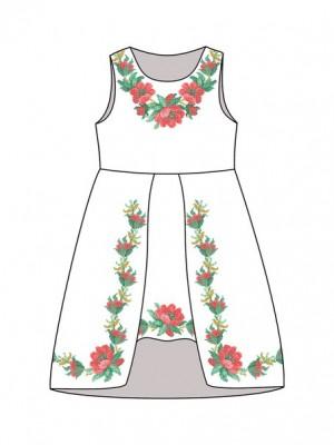 Детское платье-вышиванка ДП-291