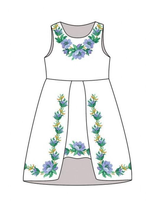 Детское платье-вышиванка ДП-301