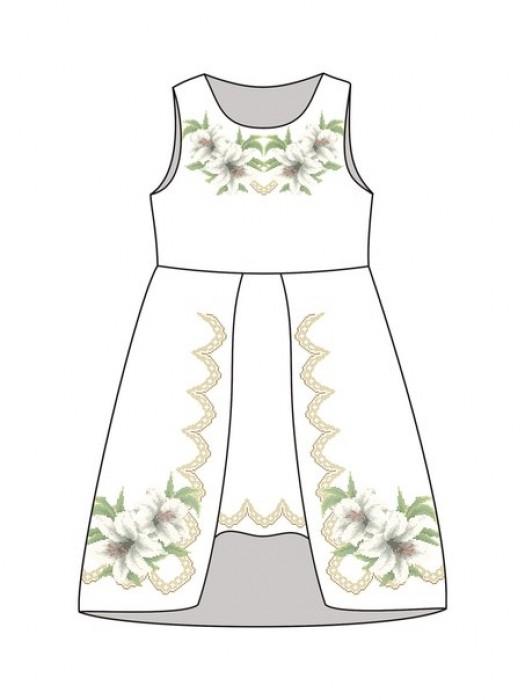Детское платье-вышиванка ДП-481