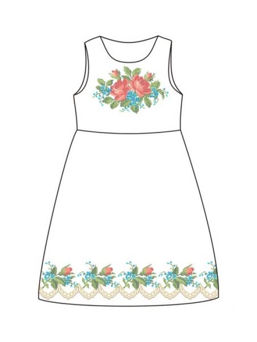 Детское платье-вышиванка ДП-63