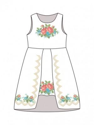 Дитяче плаття-вишиванка ДП-631