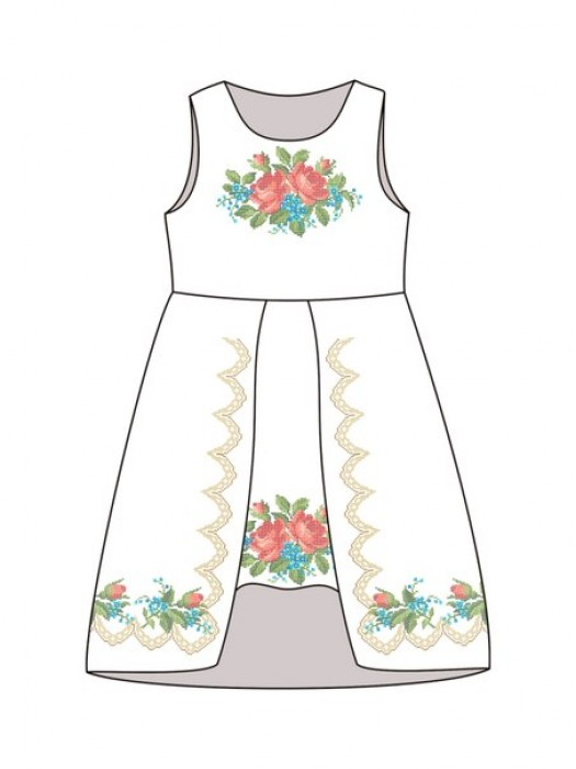 Детское платье-вышиванка ДП-631