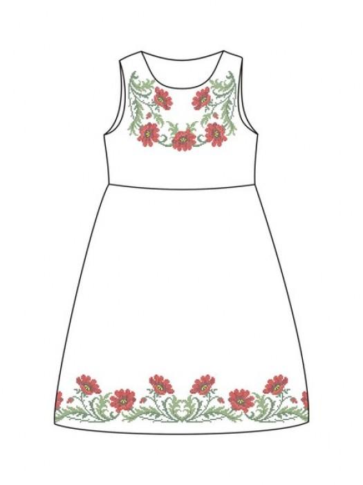 Детское платье-вышиванка ДП-64