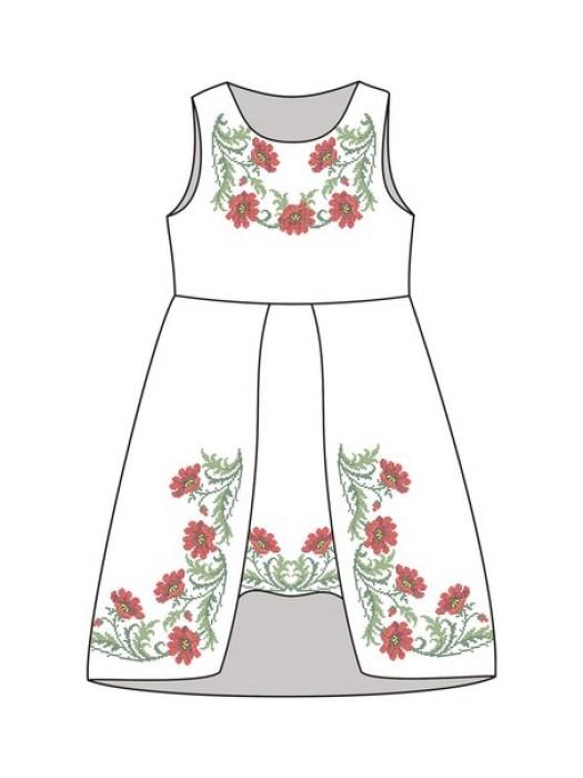 Детское платье-вышиванка ДП-641
