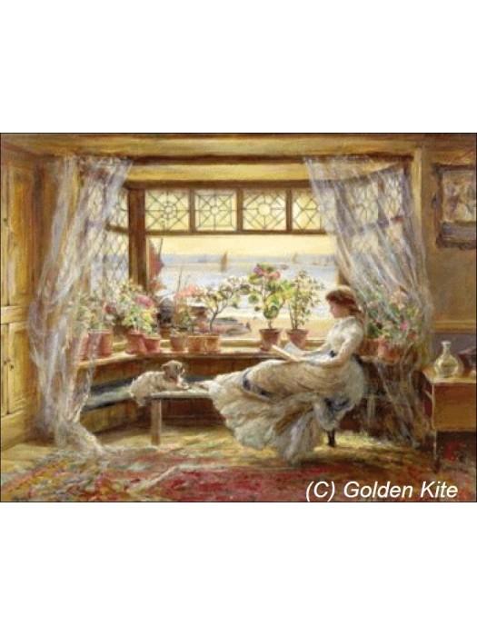 Дама у окна 1050 Голден Кайт
