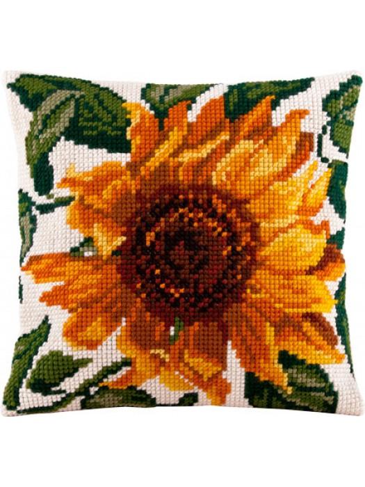 Соняшник - набір для вишивання для подушки