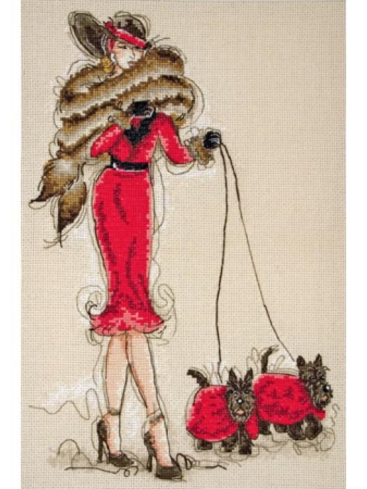 Набор для вышивания Великолепные шотландцы