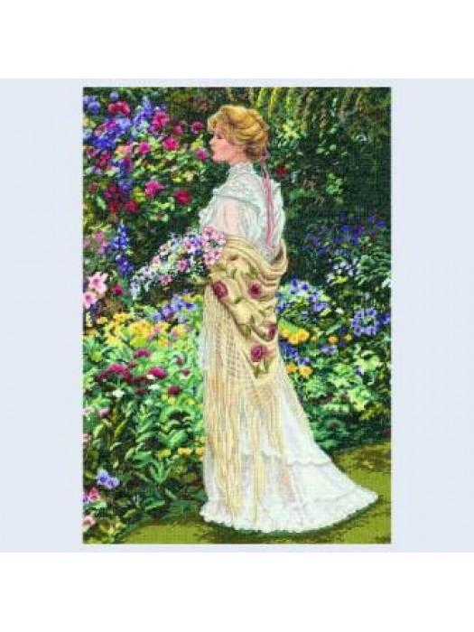 Набор для вышивания В ее саду (в саду)