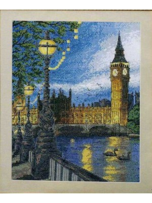 Набор для вышивания Лондон Темза