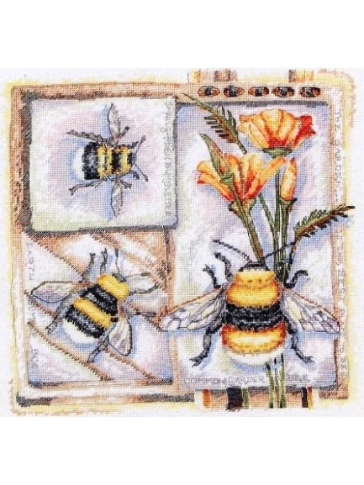Пчёлы - набор для вышивания