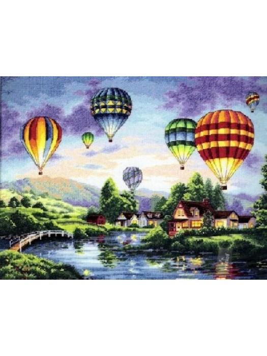 Набор для вышивания Воздушные шары