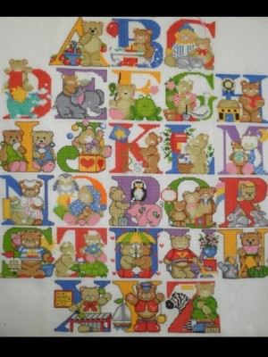 Набір для вишивання Англійський алфавіт