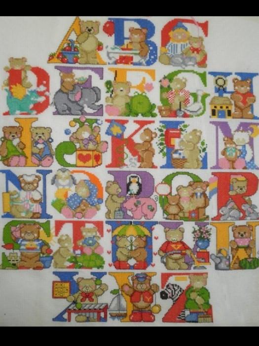 Набор для вышивания Английский алфавит