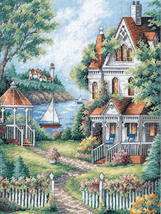 Набор для вышивания Райское место