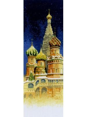 Набор для вышивания Храм Василия Блаженного