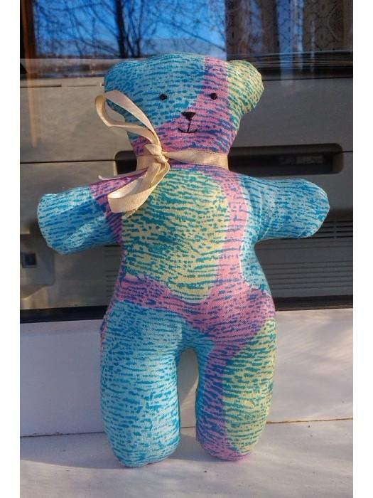 М'яка іграшка ручної роботи середній ведмедик